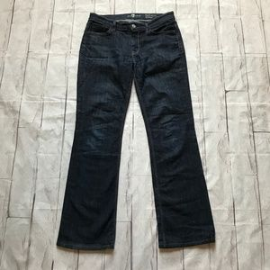 *FLAW* 7 For All Mankind | 29 | HIgh Waist Bootcut